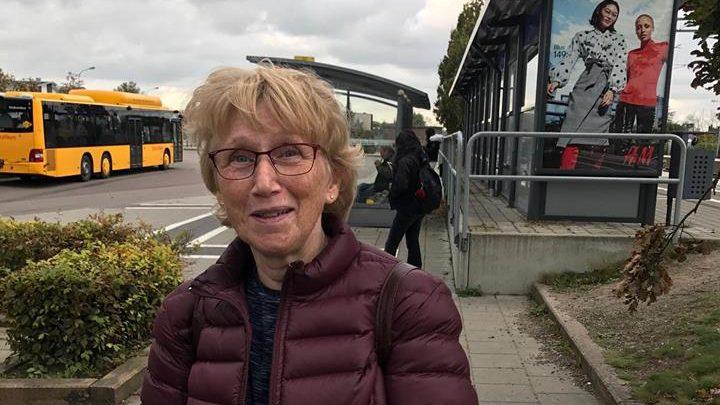 Eva Nilsson, 64 år, bor i Almaröd – pendlar till Skurup.