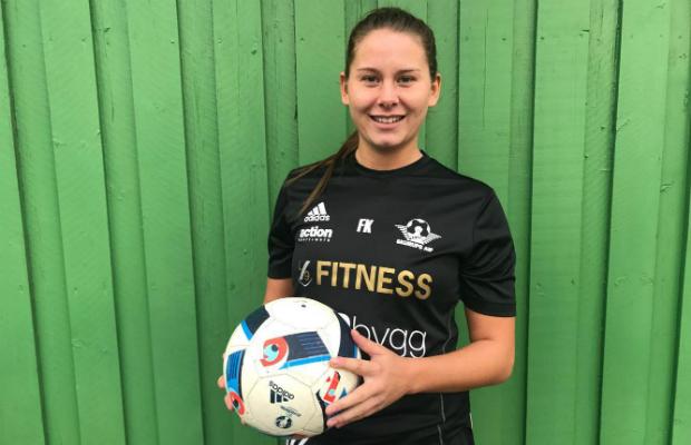Frida Kristensson är nöjd med lagets säsong.