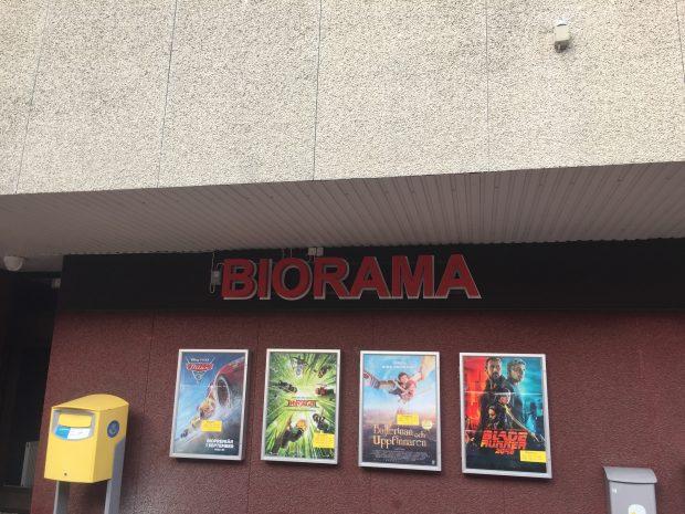 Några av de aktuella filmerna på Biorama.