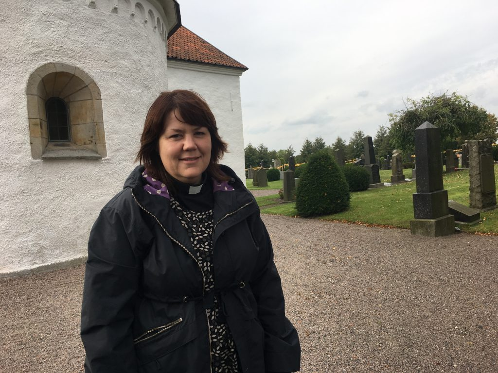 Sofia Cederwald, präst i Skurups församling.