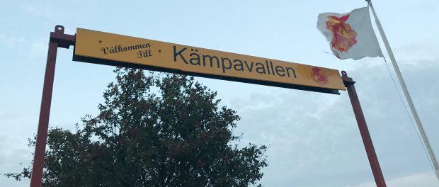 Kämpavallen, hemmaplan för Janstorps AIF, där den andra kvalmatchen kommer att spelas den sjunde oktober.