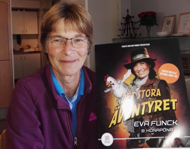 Ulla Larsen, verksamhetschef vid Folkets hus i Skurup, säger att ifall hon fick bestämma skulle det vara barnteater varje vecka och disco varje helg.