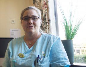 Maria Nilsson, undersköterska