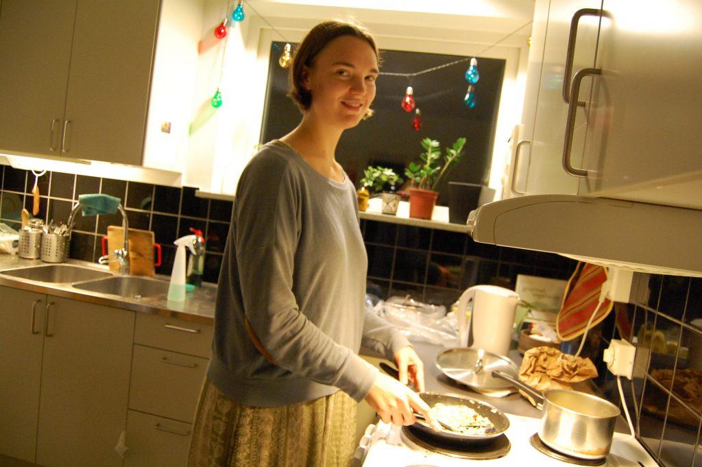 Hanna Olsson, går på Folkmusiklinjen på Skurups folkhögskola.