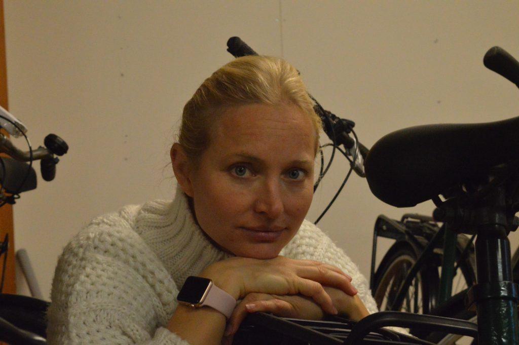 Karolina SIlfverberg brinner för integrationsfrågor och har jobbat hårt med projektet Skurups hjältar.
