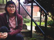 Long Nguyen har förberett sig genom att plugga på gamla prov och laga en balanserad matlåda inför morgondagens högskoleprov.