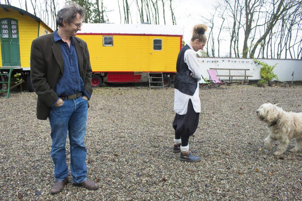 Janna och Mladen sköter all renovering och upprustning av vagnarna själva.