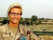 Maria Thorsson, fältpräst i Mali för FN