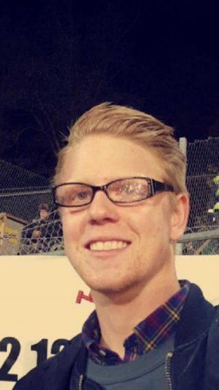 Lukas Karlsson, 23-årig fikaentusiast från Strängnäs