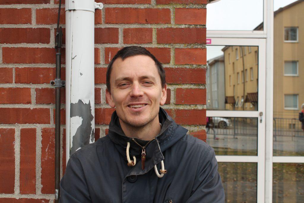 Viktor Nordh, lärare.