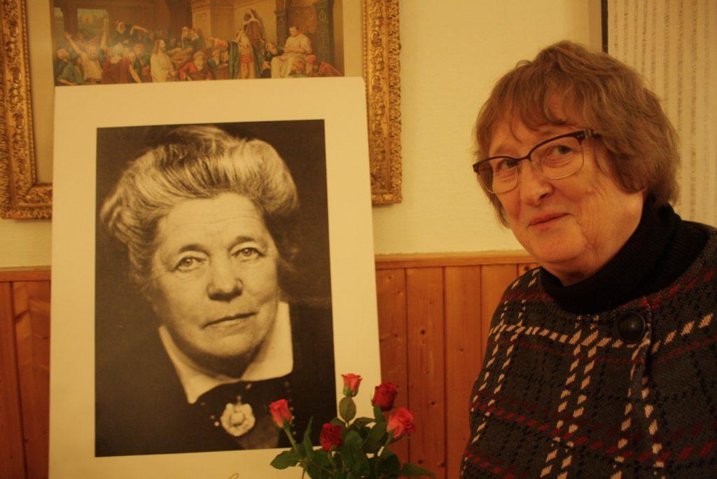 Kerstin Persson är ordförande för Selma Lagerlöf-gruppen.