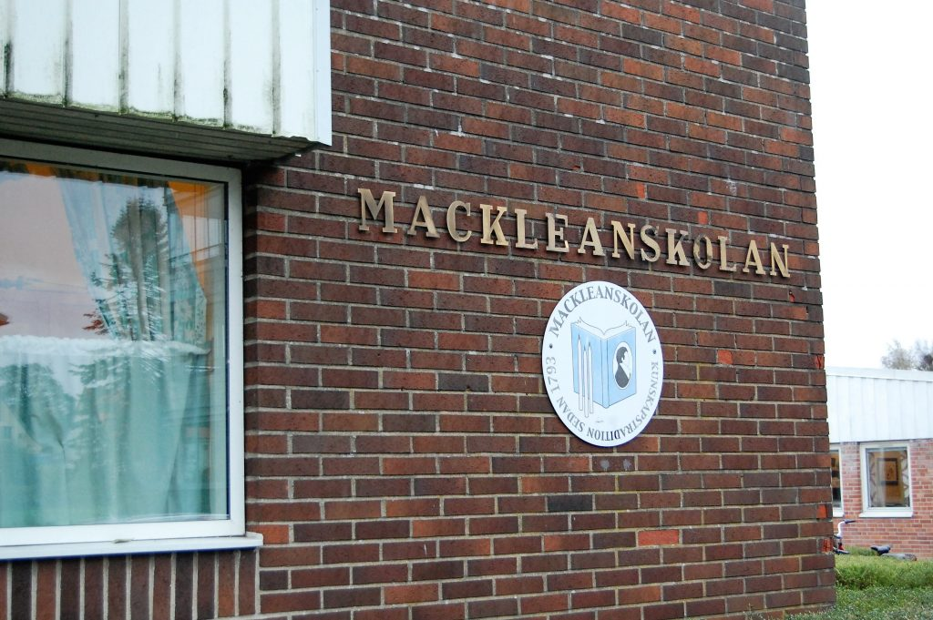 Mackleanskolan i Skurup.