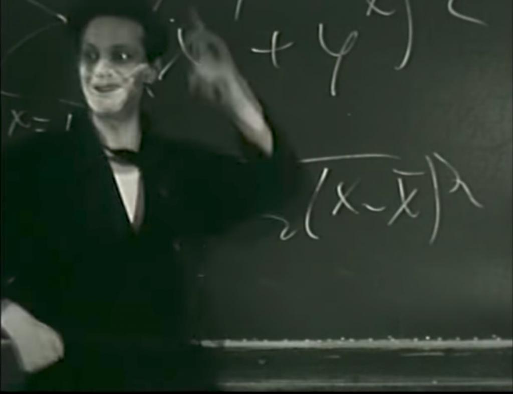 Som ny lärare hade Börje Norrman inga problem att komma in i karaktär.