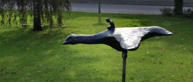 Trots att gåsen är den eviga symbolen för Skurup ligger fågeln lågt på invånarnas önskelista.