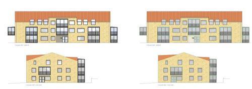 Skurupshem planerar att bygga hyresrätter på Prästgatan med byggstart innan årsskiftet.
