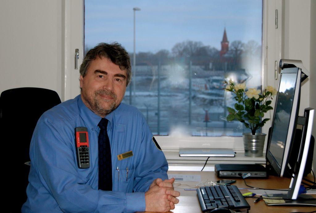 Micael Johansson är kriminalinspektör och tillförordnad kriminalvårdschef på anstalten.