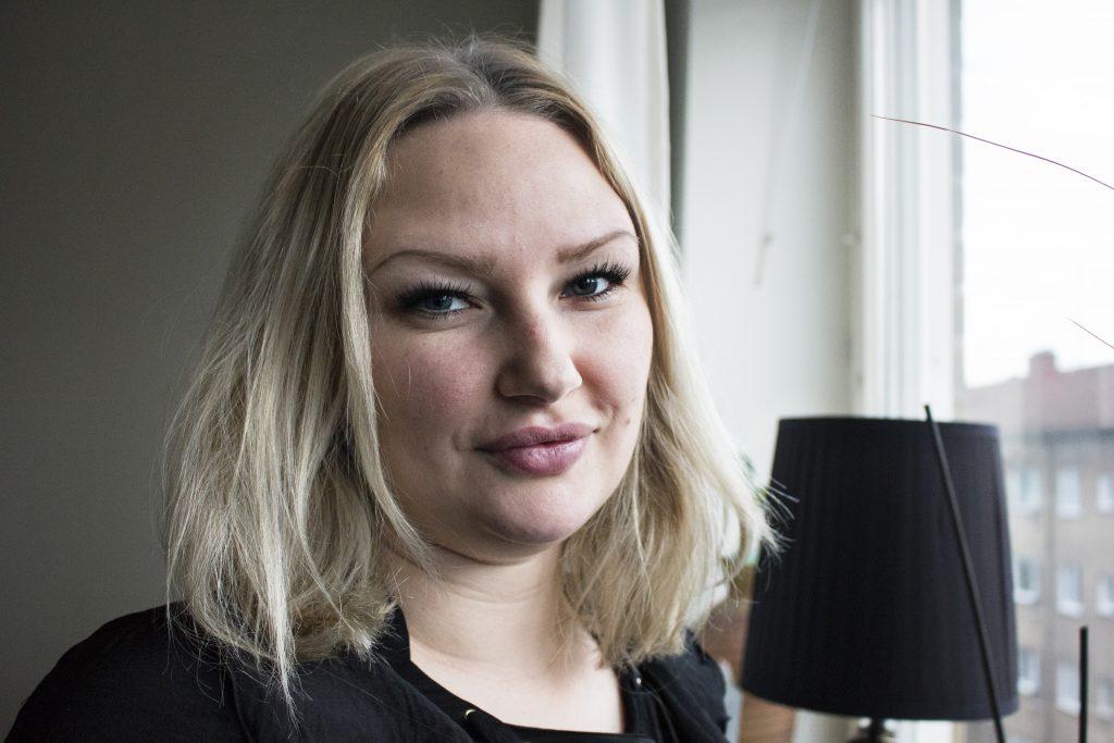 Sandra Garbom är ordförande för Unga Aktiesparare Limhamn.