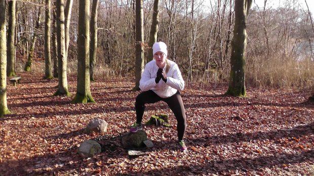 Malin Klang, personlig tränare, boende i Skivarp. Tränar för att orka stress och press.