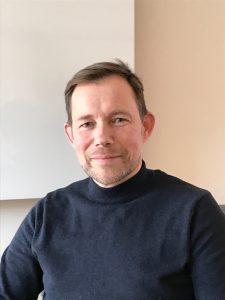 Ola Bentzen, Vård och omsorgschef på Skurups kommun. Foto: Privat
