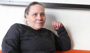Marie Sjögren är orförande i tillgänglighetsrådet. Foto: Sanna Hjalmarsson