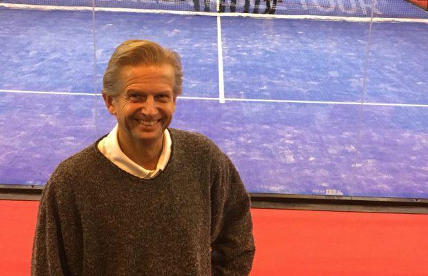 Mikael Bjelkedal vill lyfta racketsporten i Skurup.