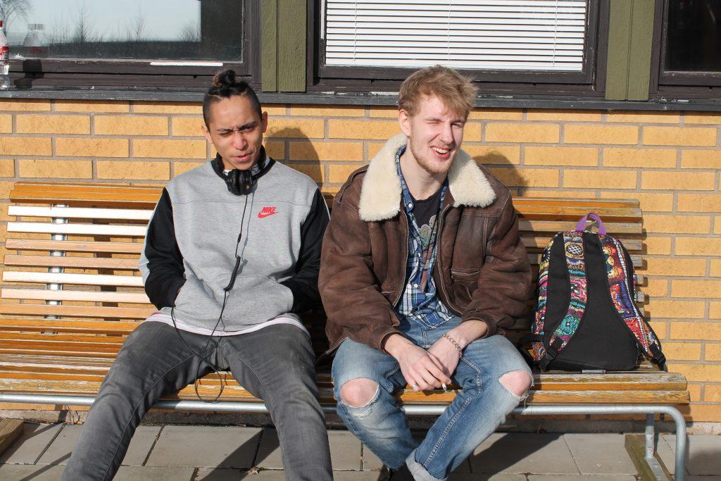 Jonathan Sparr (t.v) och Joel Svedberg (t.h)