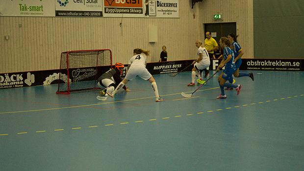 Här kvitterar Munka-Ljungby till 1-1.
