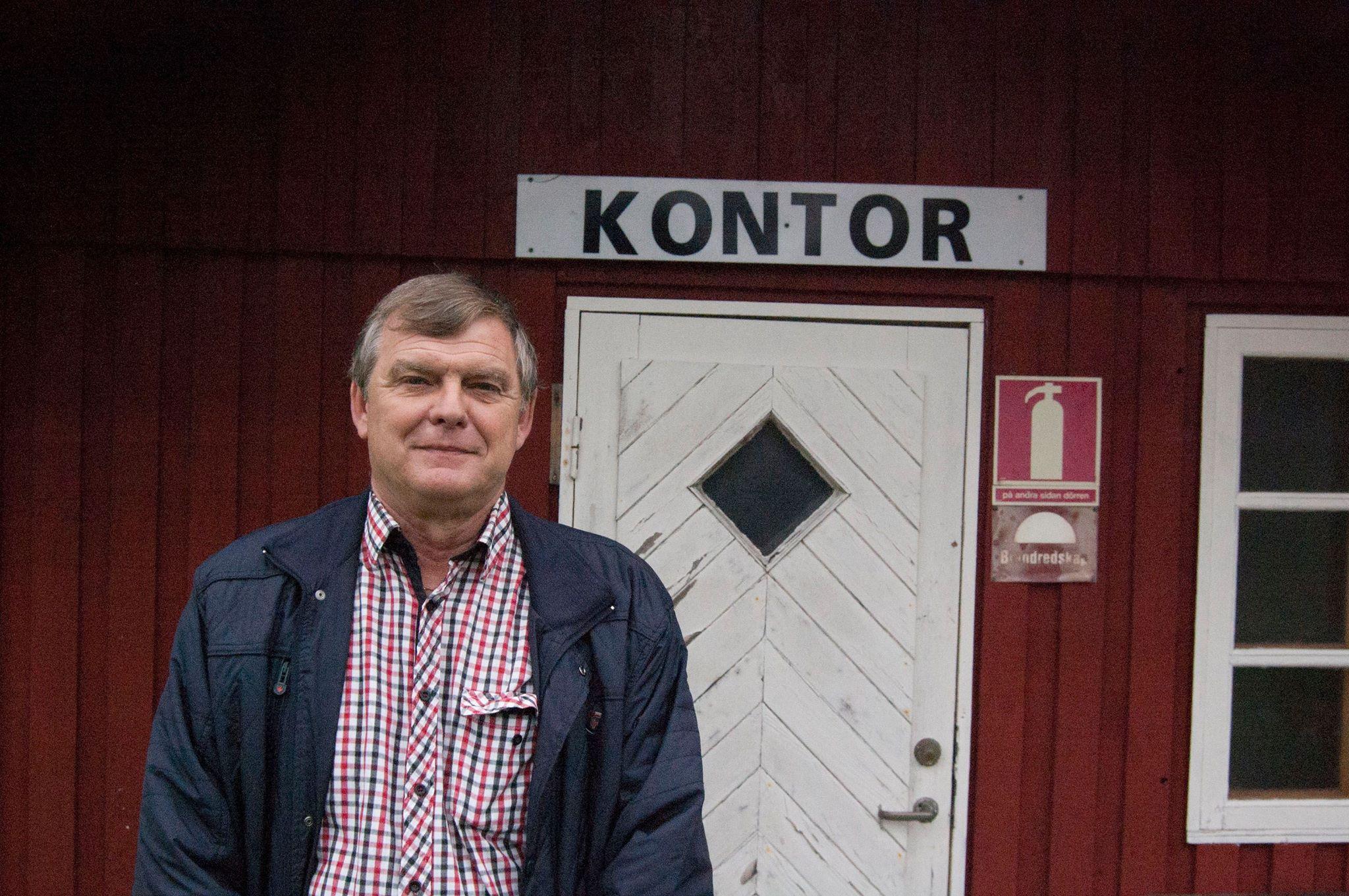 Roland Hansson, marknadsgeneral på Folkets hus och park  Foto: Mattias Lindgren