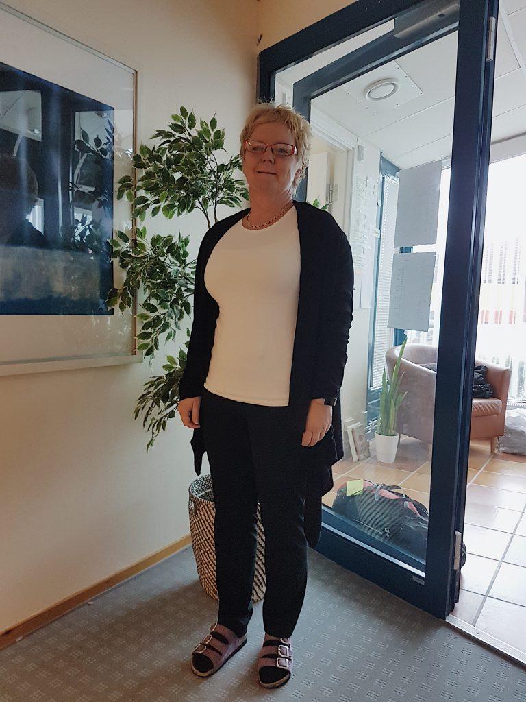 Eva Svanström, socialchef för unga och barn i Skurups kommun. FOTO: Nellie Erberth