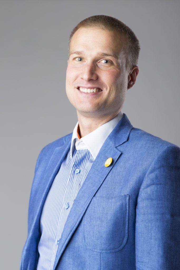 Eftersökt. Johan Bolinder är Moderaternas ordförande i Skurups kommun.