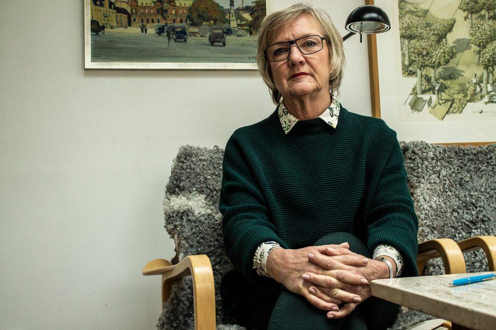 Liberalernas Eva Hallmer Lindahl. – Det finns ingen anledning att överdriva känslan av otrygghet.