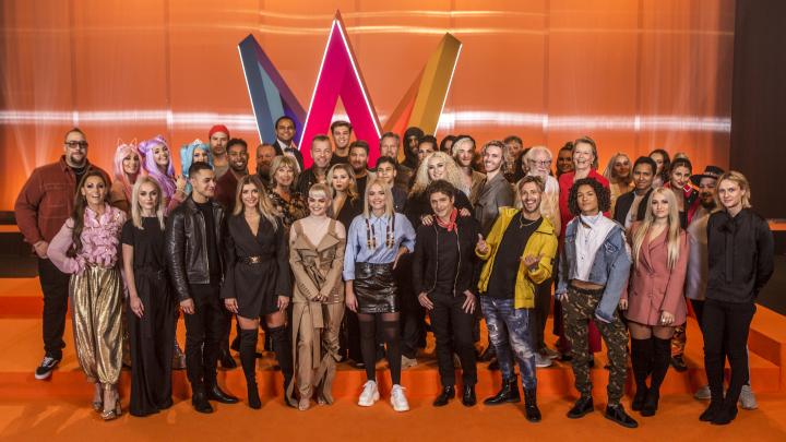 Årets deltagare för Melodifestivalen