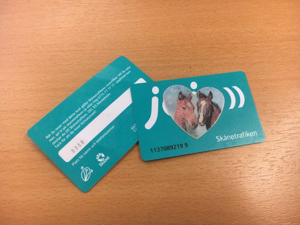 Jojo-korten försvinner och ersätts bland annat av en mobilapp