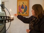 Prästen Sofia Cederwald kommer besöka gravar nästa helg. Foto: Johan Christiansen