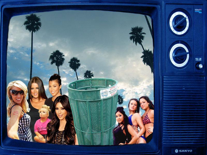 Mängden realityserier på tv har ökat explosionsartat under 2000-talet. Foto: flickr