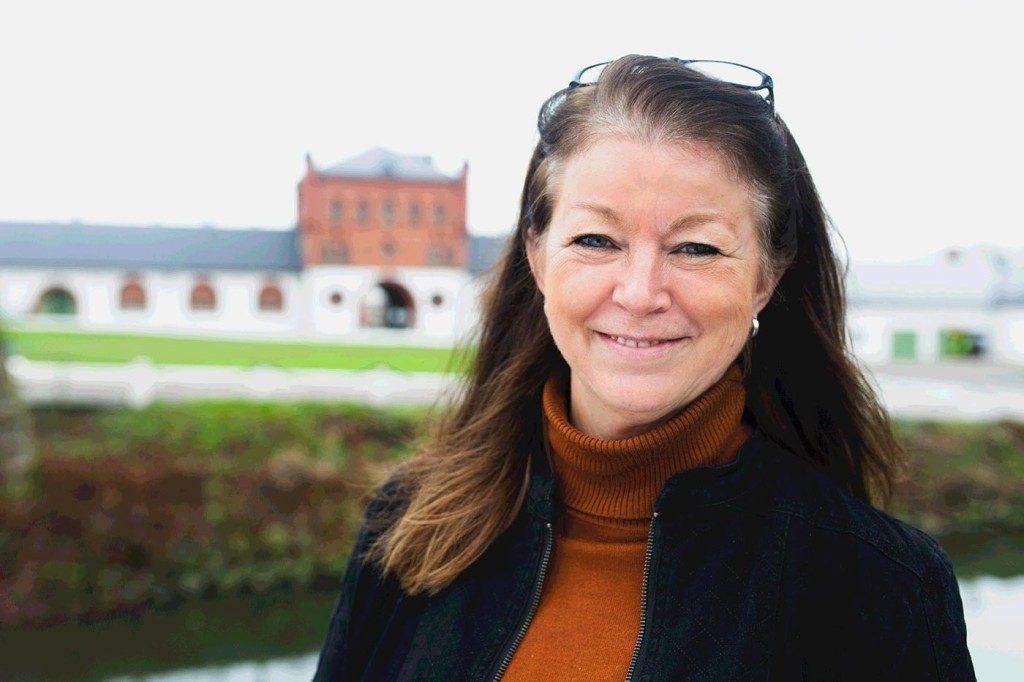 Lena Tjellander, rektor på Bollerup. Foto: Bollerups gymnasium