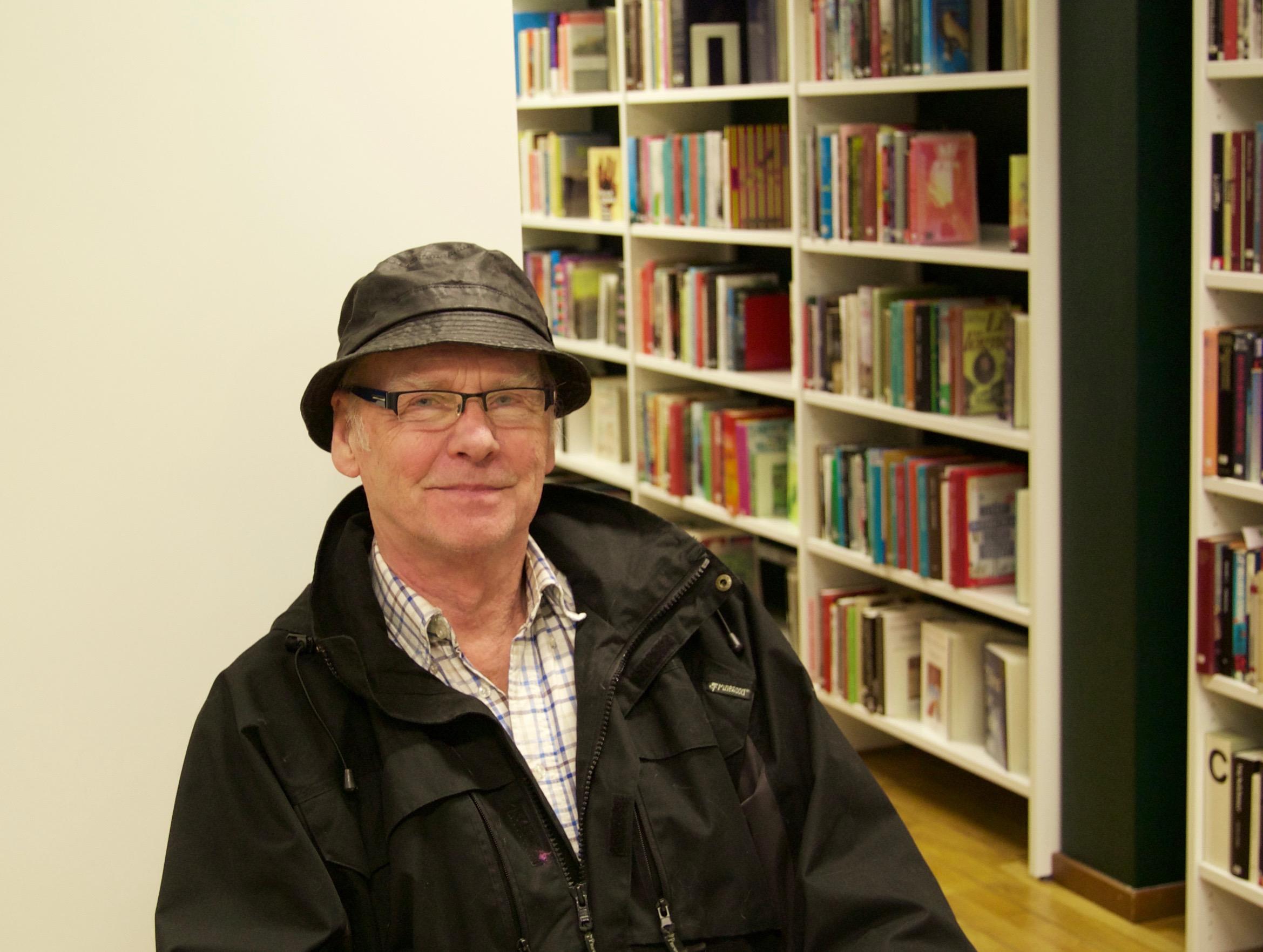 Det var ren tur att Gunnar Rasmussen läste om juristjouren i tidningen. Foto: Lenke Morath