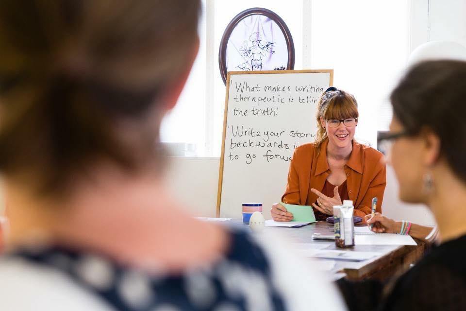 Emelie - Write Your Self workshop