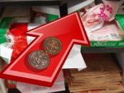 Tre kronor kommer den nya skatten på handlekassen bli.