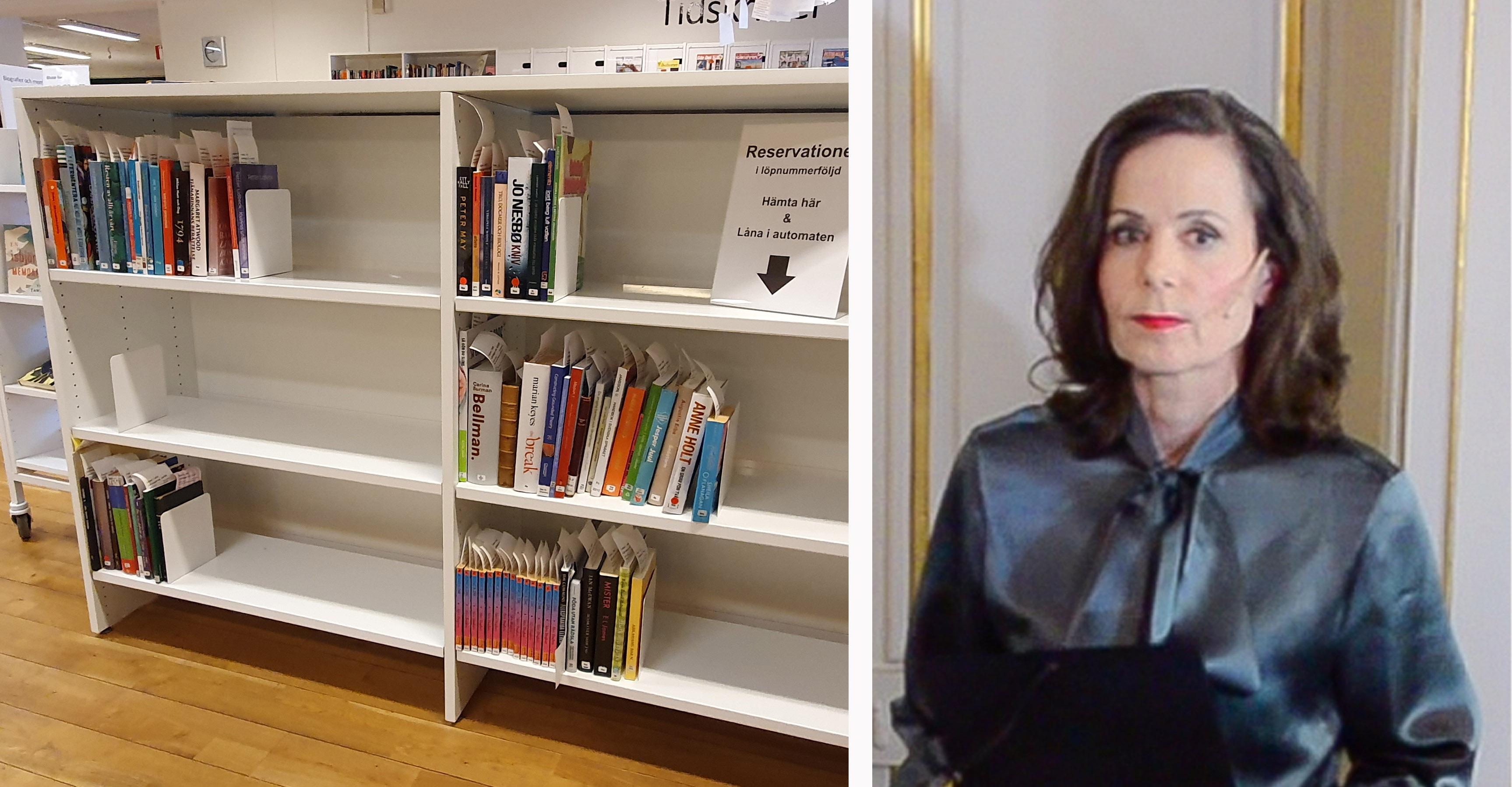 Sara Danius död har redan resulterat i flertalet bokningar av hennes böcker.