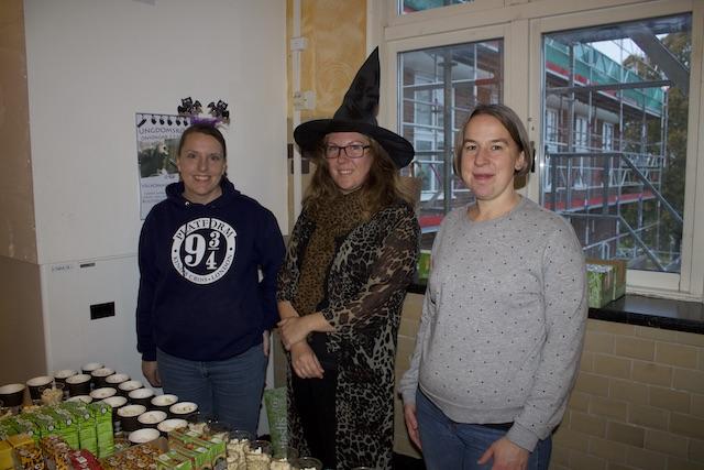 Anna Prahl, Terese Petterson och Sandra Jelves engagerar sig för i ungdomars kulturella verksamhet i Skurup.