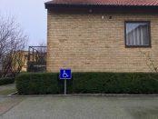 Reserverad parkeringsplats
