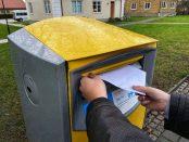 I Sverige skickas allt färre brev. Foto: Carolina Svalbacke