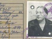 Min familj sparar på saker. På farmors vind finn det pass min farfars mamma tilldelades av nazistregimen.