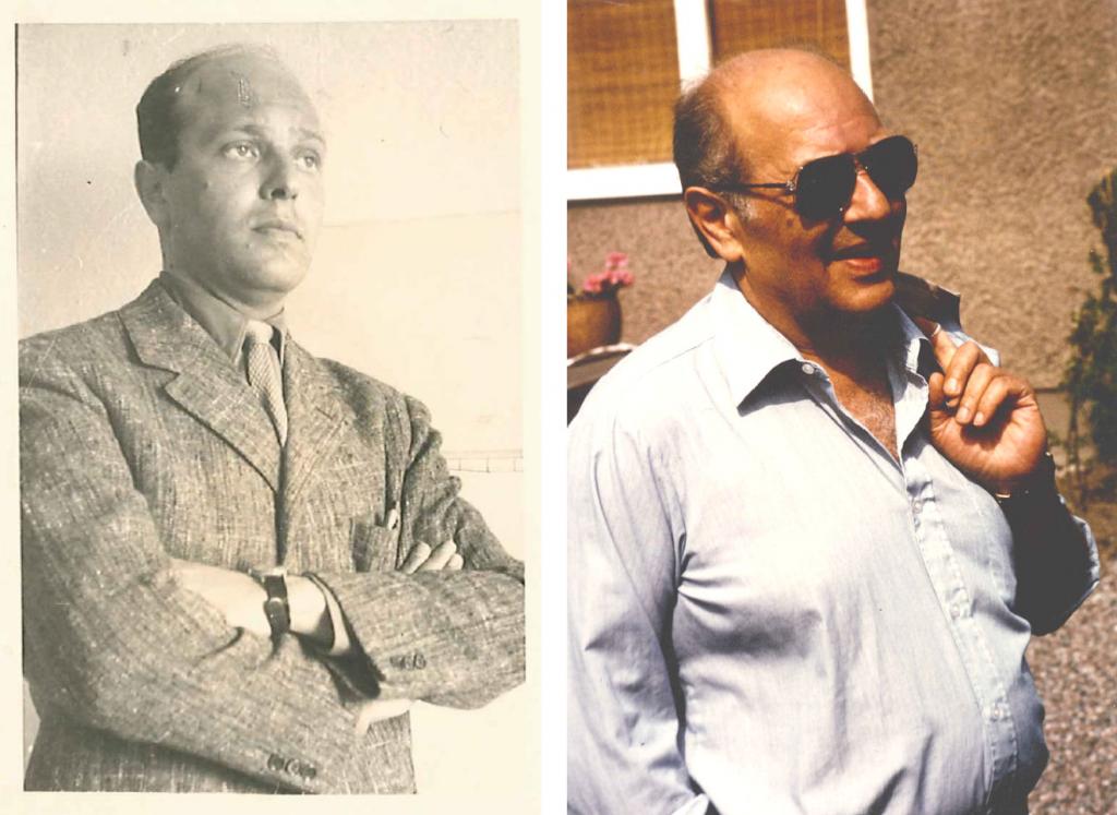 Min farfar kom till Sverige efter kriget. Under sitt yrkesliv arbetade han som arkitekt. Foto: privat