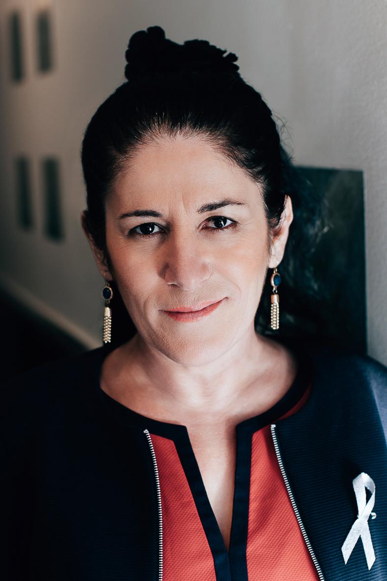 Sara Mohammad, grundare och orförande för GAPF. Foto: privat.