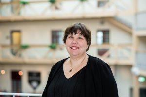 Sofie Blombäck är statsvetare vid Mittuniversitetet. Foto: Mittuniversitetet.