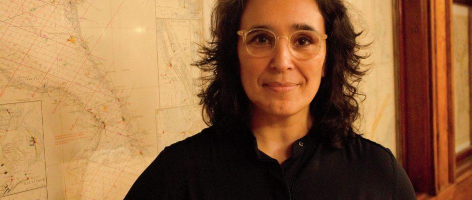 Francisca Kertzscher är Vänsterpartiets ordförande i Skurup. Foto: Carolina Svalbacke