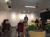 Björn Ranelid var inbjuden talare för kvällen.