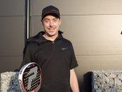 I helgen satsar André Schlyter och hans partner på vinst i padel-SM.
